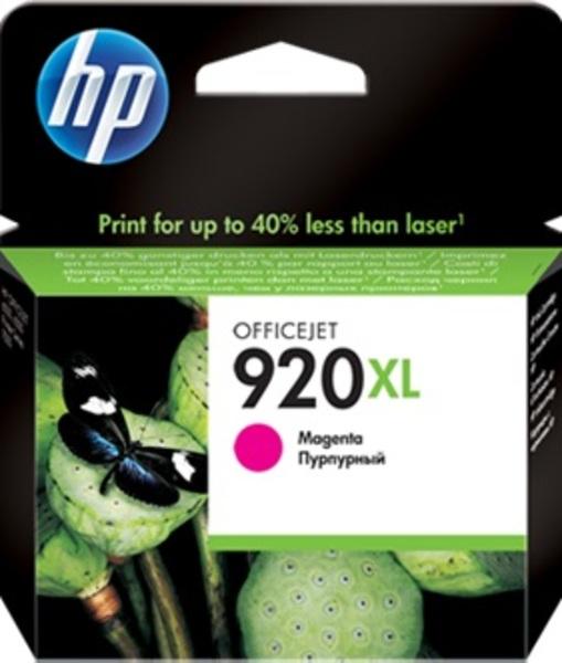 HP 920XL Magenta Officejet Ink Cartr. CD973AE#BGY