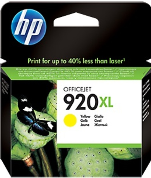 HP 920XL Yellow Officejet Ink Cartr. CD974AE