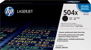 HP Toner-Modul 504X schwarz CE250X