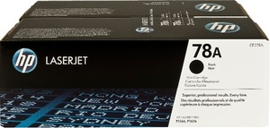 HP Toner 78A/schwarz/Doppelpack CE278AD