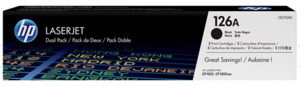 HP Toner 126A / schwarz CE310A