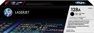 HP Toner 128A / schwarz CE320A