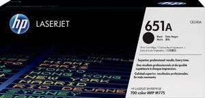 HP Toner/schwarz 651A CE340A