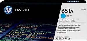HP Toner/cyan 651A CE341A