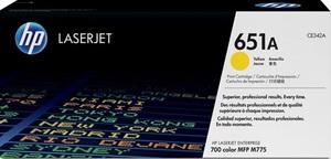 HP Toner/gelb 651A CE342A