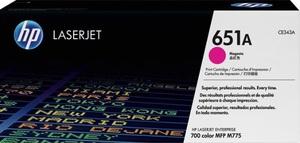 HP Toner/magenta 651A CE343A
