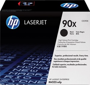 HP Toner CE390X / schwarz CE390X