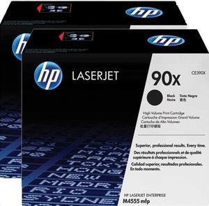 HP Toner/Black 90X Dual Pack Cartridge CE390XD