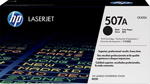 HP Toner 507A / schwarz CE400A