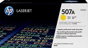 HP Toner 507A / gelb CE402A