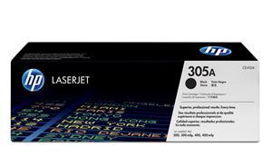HP Toner/305A Black LaserJet TonerCart CE410A