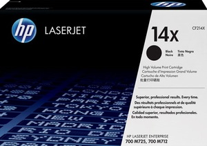 HP 14X Black LaserJet Toner Cartridge CF214X