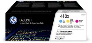 HP Toner Tri-Pack 410X CMY CF252XM