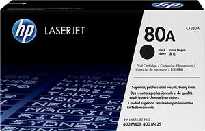 HP Toner 80A / schwarz / 2700 S CF280A