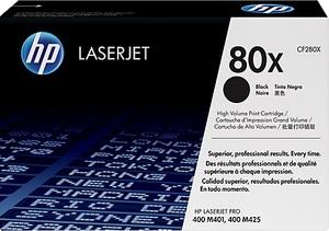 HP Toner 80X / schwarz / 6900 S CF280X