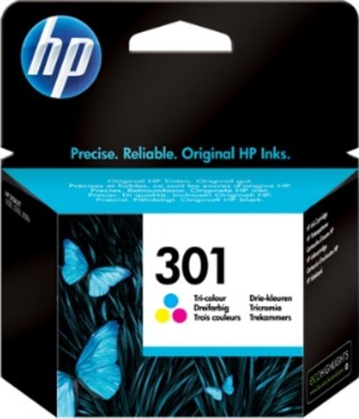 HP 301 Tri-color Ink Cartridge CH562EE