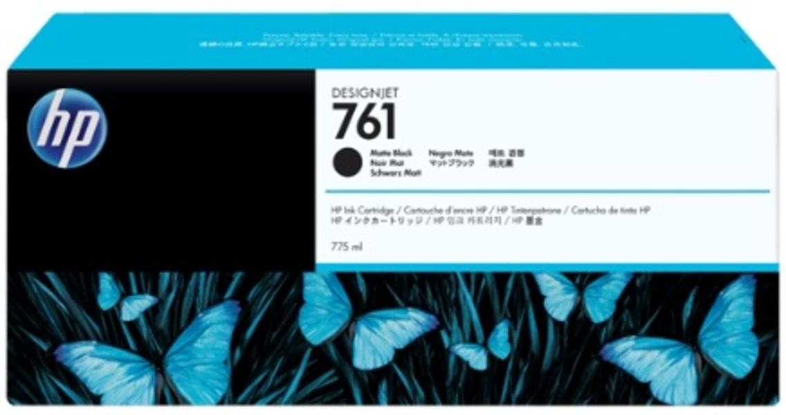 HP No 761 Ink Cart/Matte Black 775ml CM997A