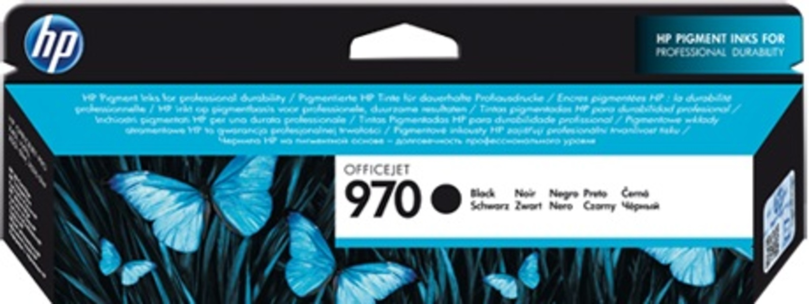 HP 970 Black Ink Cartridge CN621AE