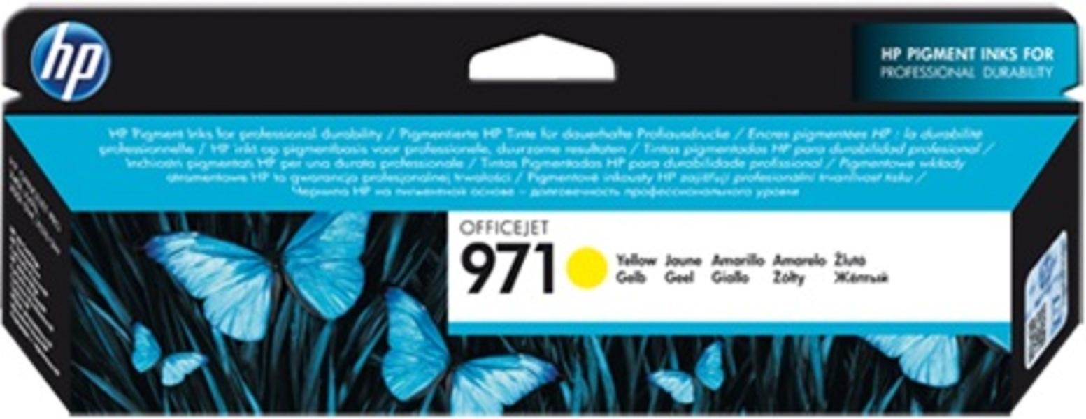 HP 971 Yellow Ink Cartridge CN624AE