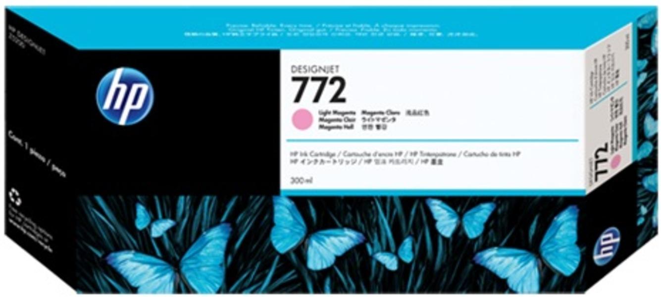 HP 772 300ml Ligh-tMagenta Ink Cartridge CN631A