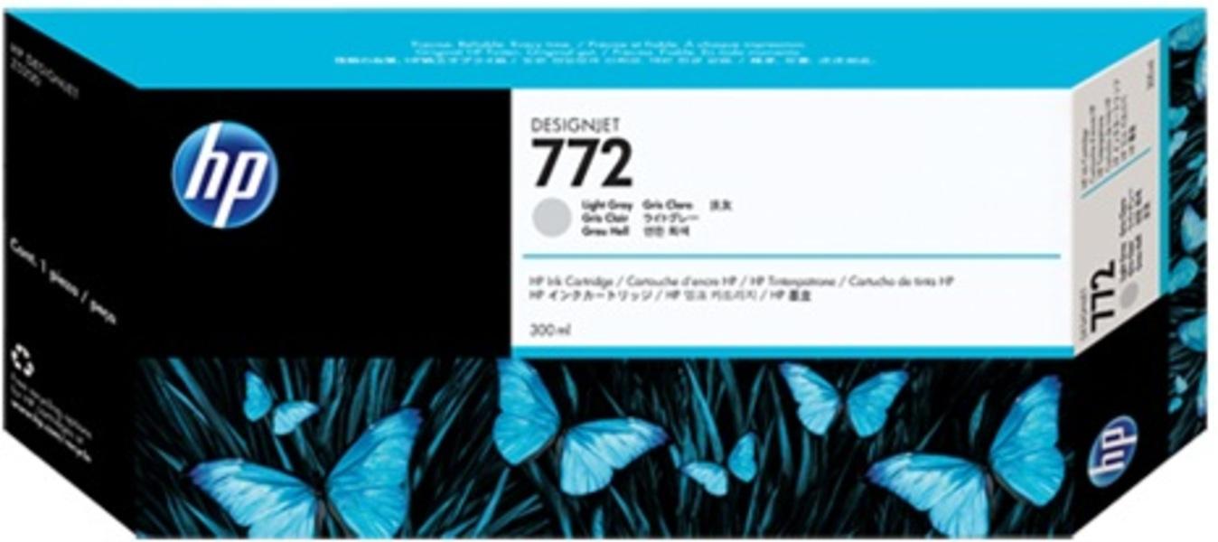 HP 772 300-ml Light-Grey Ink Cartridge CN634A