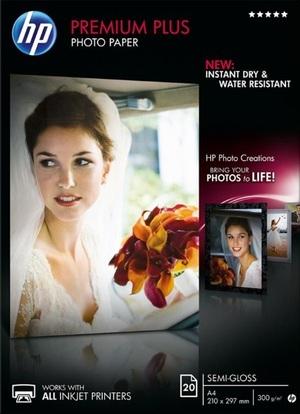 HP Premium Plus Semi-Glossy Photo Paper CR673A