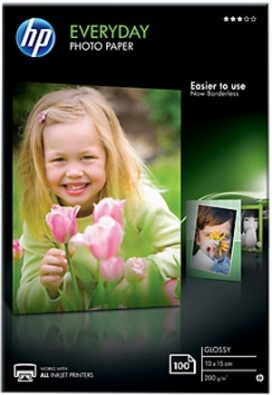 HP Paper/Everyday Glossy Photo 100 10x15 CR757A