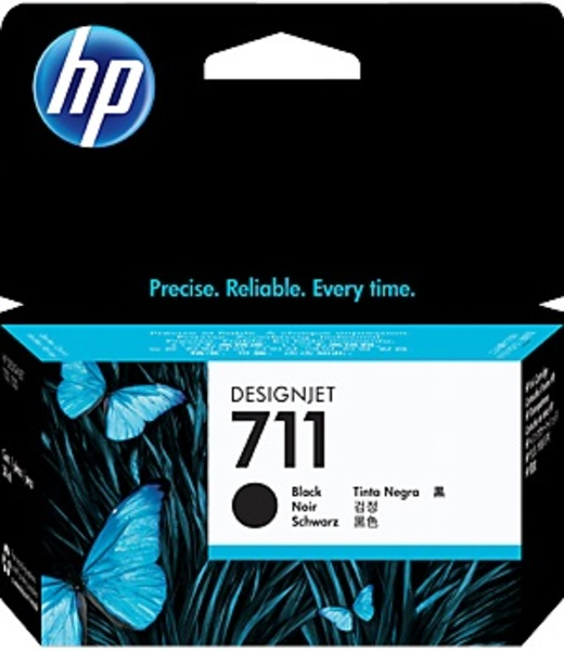 HP 711 38-ml Black Ink Cartridge CZ129A