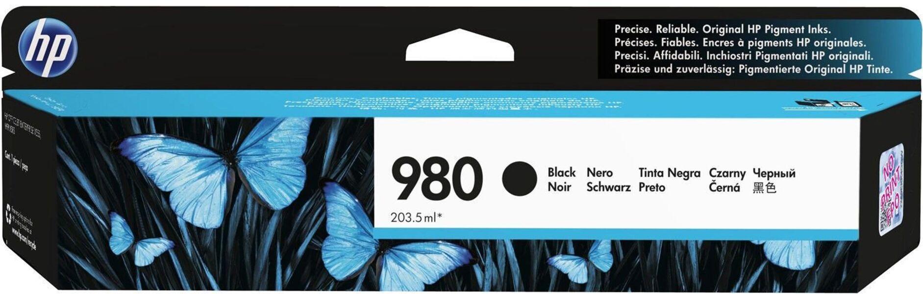 HP Ink/980 Black Original Cartridge D8J10A