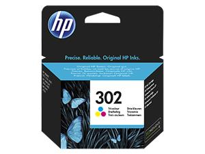 HP INK CARTRIDGE NO 302 C/M/Y F6U65AE