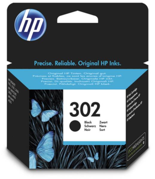 HP Tintenpatrone 302 schwarz F6U66AE