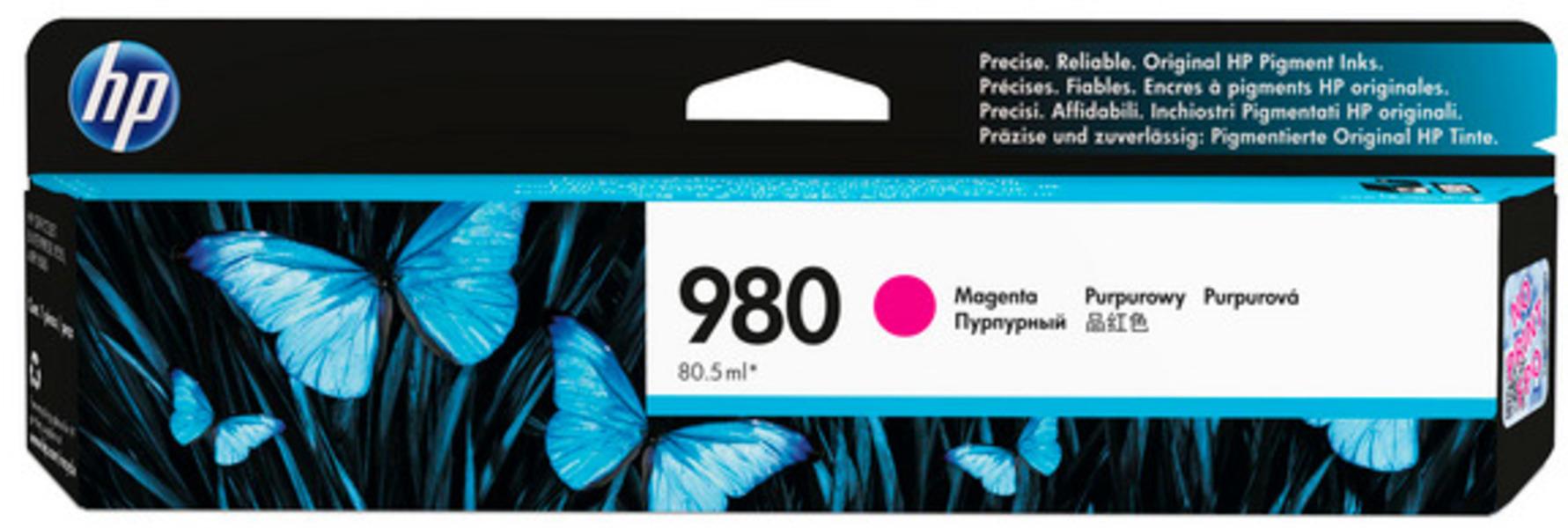 HP Ink/980 Magenta Original Cartridge D8J08A