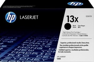 HP Toner, 13X, black Q2613X