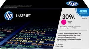 HP Toner, 309A, magenta Q2673A