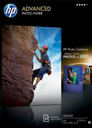 HP Paper Photo/Adv Glossy A4 25sh Q5456A