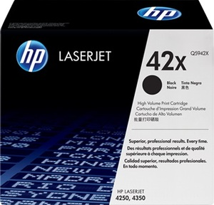 HP Toner, 42X, black Q5942X