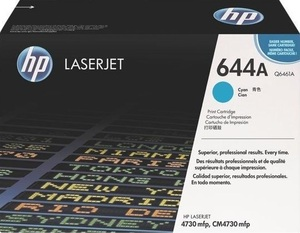 HP Toner, 644A, cyan Q6461A