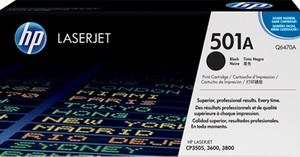 HP HP Toner, 501A, black Q6470A
