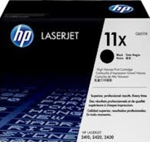 HP Toner, 11X, black Q6511X