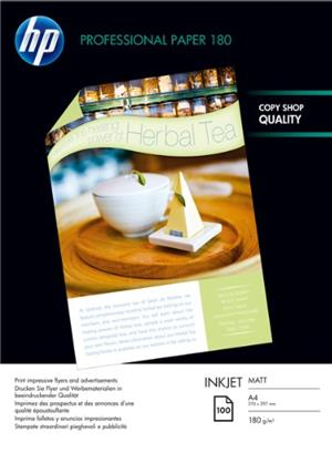 HP Paper/Matte A4 100sh f inkjet Q6592A