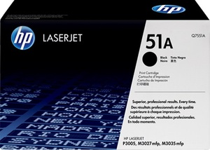 HP Toner, 51A, black Q7551A