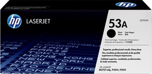 HP Toner, 53A, black Q7553A