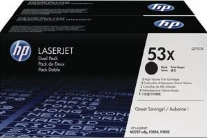 HP Toner/black f LJ P2014/P2015/M2727MFP Q7553XD