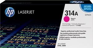 HP Toner, 314A, magenta Q7563A