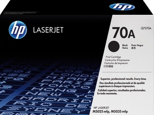 HP Toner, 70A, black HPQ7570A