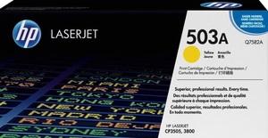HP Toner, 503A, yellow Q7582A
