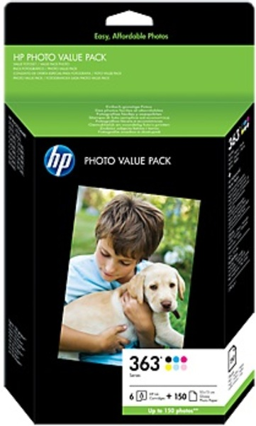 HP HP Photo Pack, Ink Cartr.363 Q7966EE