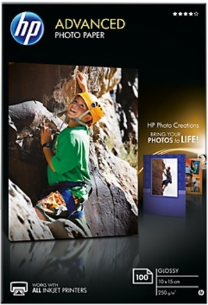 HP Paper Photo/Adv Glossy 10x15 bdl 100s Q8692A