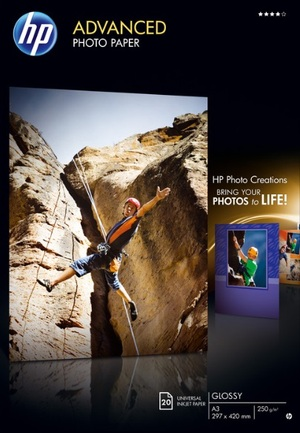 HP Paper Photo/Adv Glossy A3 20sh Q8697A