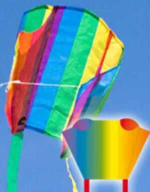 INVENTO Pocket Sleddy Rainbow,43x33cm I-Rainbow